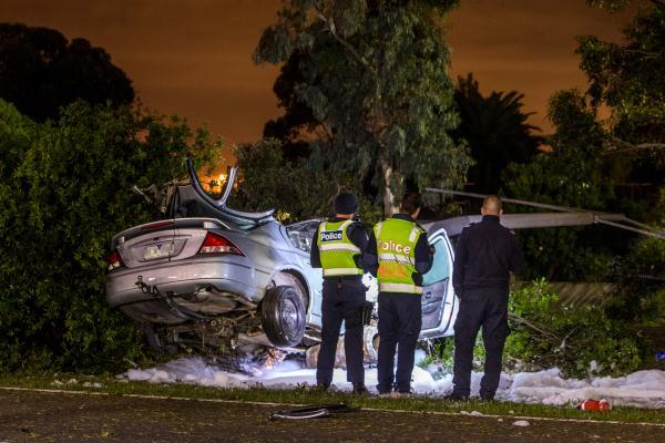 Car Accident Hallam
