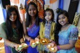Tasha, Kajal, Tanvi and Karina at the festival of lights.