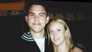 Jared Dunscombe with his sister Jonelle Colabufalo.